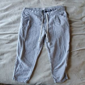 Old Navy Stripped Linen Pants